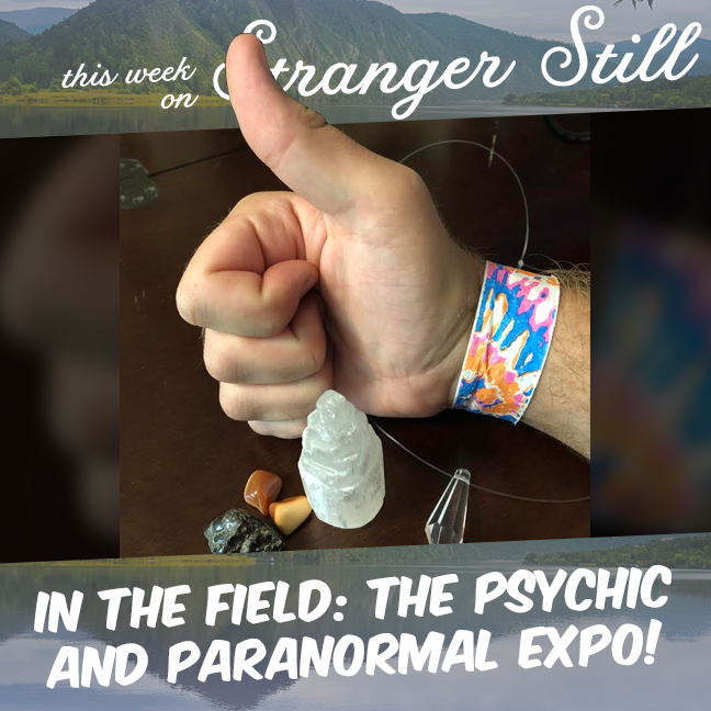In the Field: the Psychic and Paranormal Expo! – Stranger Still